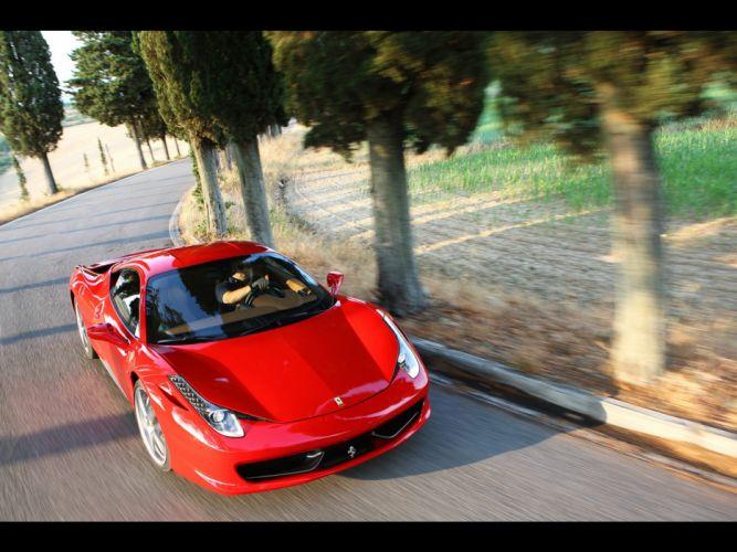 cars Ferrari front vehicles Ferrari 458 Italia red cars wallpaper