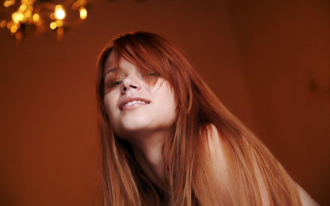 women redheads Kami - MetArt faces Kami A wallpaper