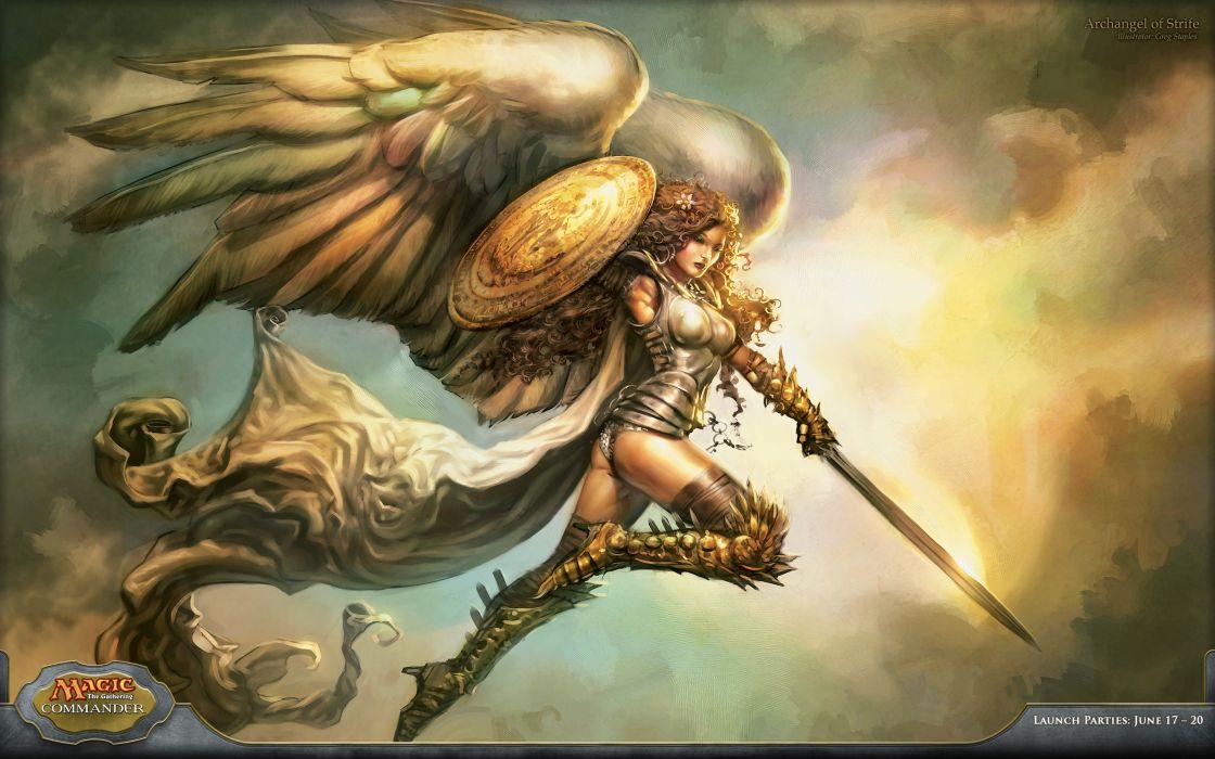 Angels Magic The Gathering Magic Wallpaper 2560x1600 56569