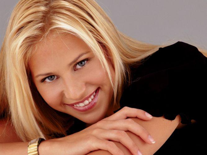 blondes women Anna Kournikova wallpaper