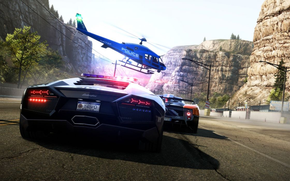 video games Need for Speed Need for Speed Hot Pursuit wallpaper