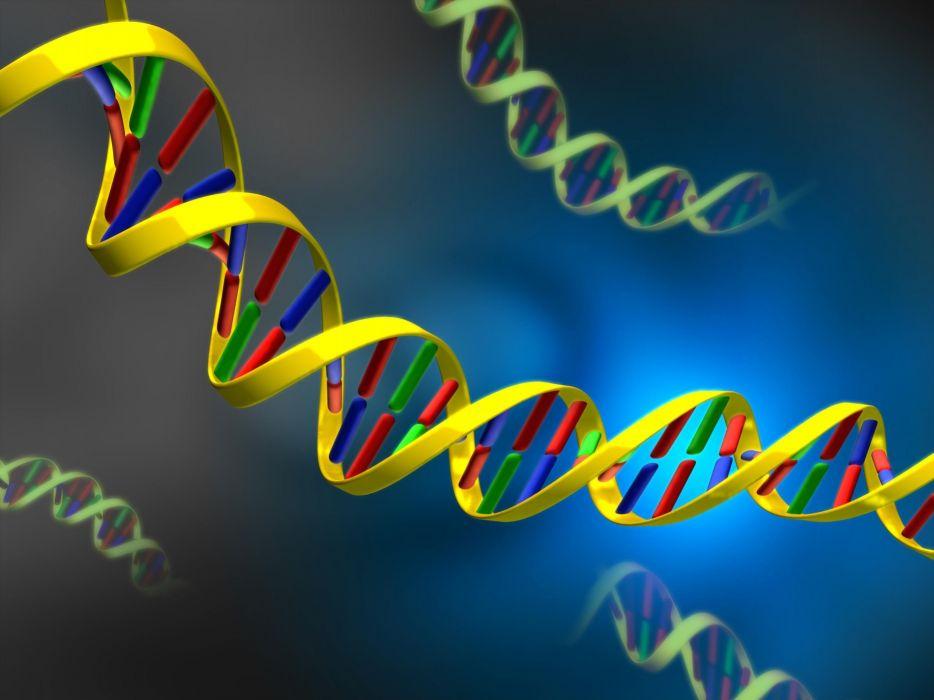 Digital Art DNA Wallpaper