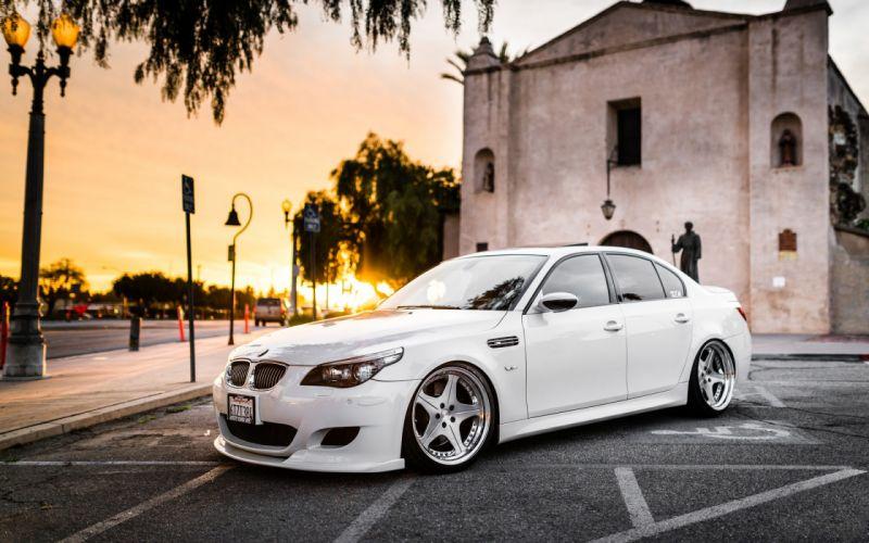cars tuning BMW M5 wallpaper