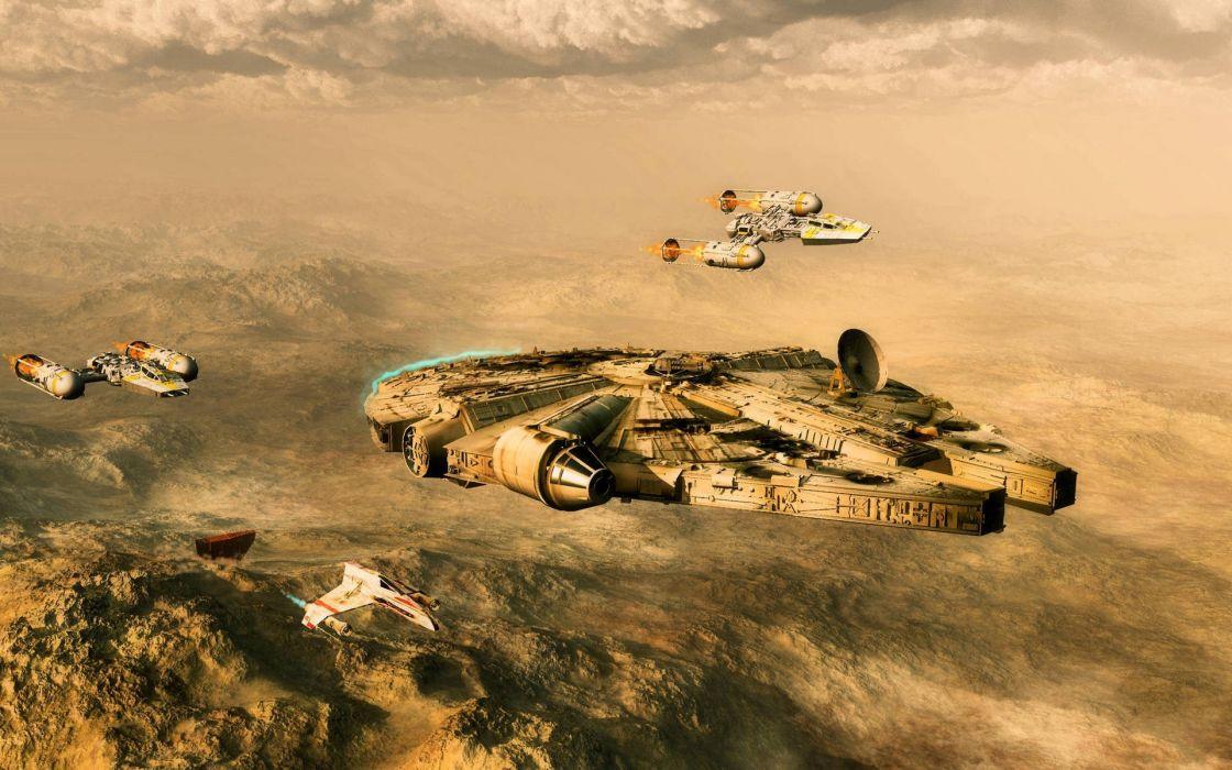 Star Wars spaceships artwork vehicles wallpaper