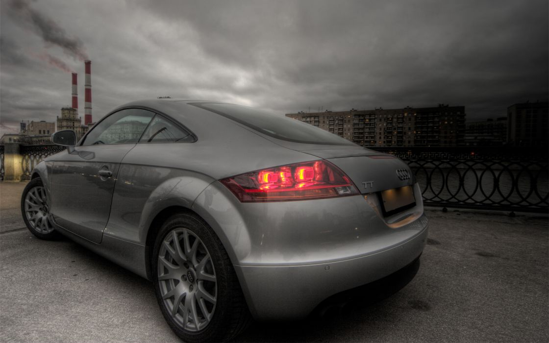cars Audi metallic Moscow Audi TT German cars wallpaper