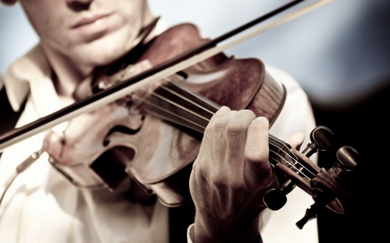 music artistic violinist wallpaper