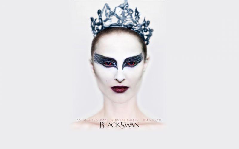 movies Natalie Portman Black Swan movie posters white background wallpaper