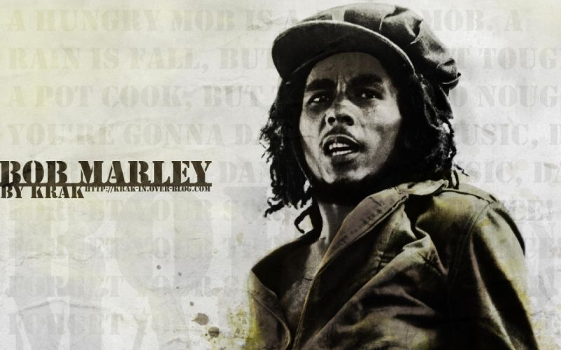 marijuana Bob Marley wallpaper