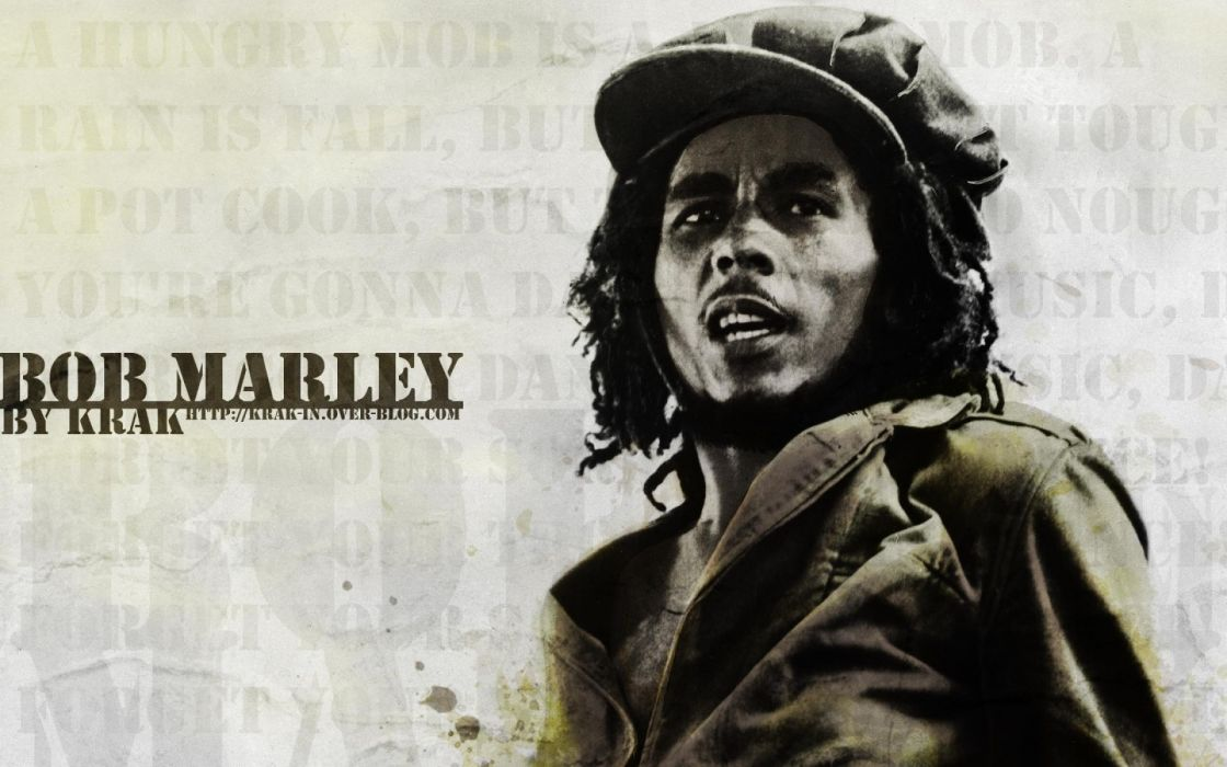 Marijuana Bob Marley Wallpaper