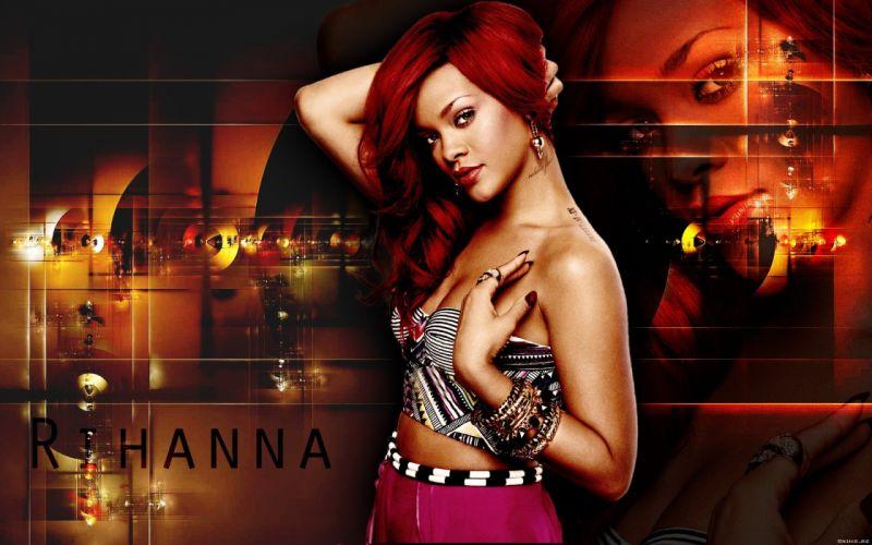 women Rihanna celebrity singers wallpaper