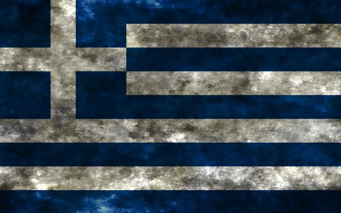 flags Greece wallpaper