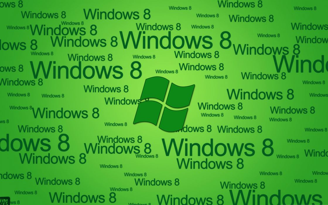 green system Windows 8 Microsoft Windows wallpaper
