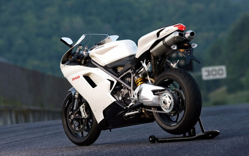 white roads Ducati vehicles motorbikes motorcycles Ducati 848 wallpaper