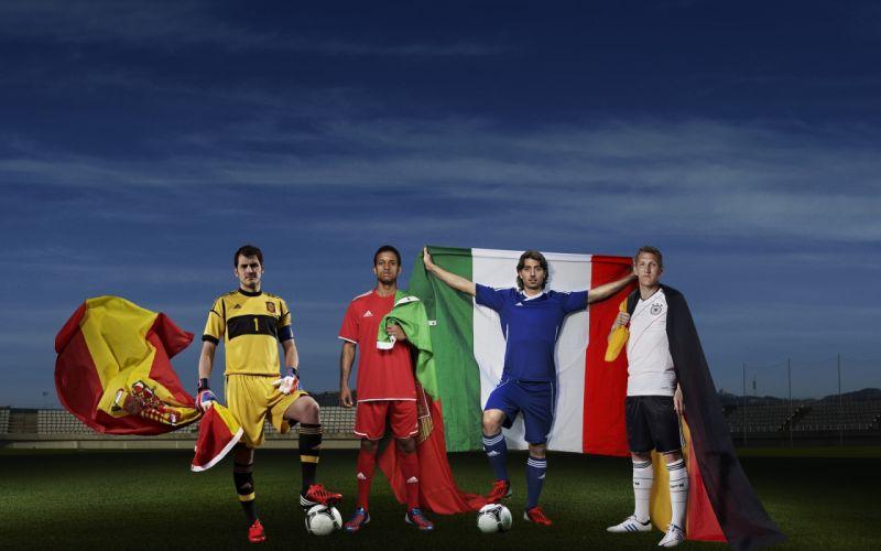 soccer Iker Casillas nani football stars soccer stars Bastian Schweinsteiger Riccardo Montolivo wallpaper