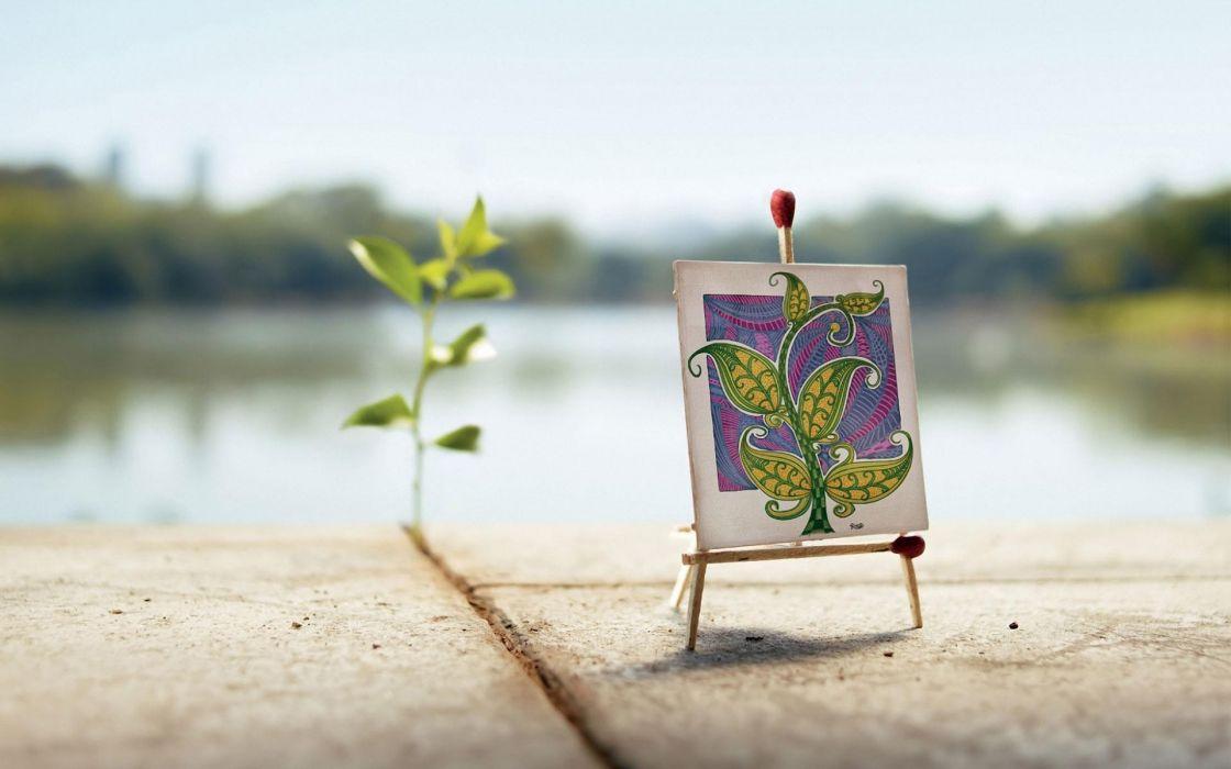 nature minimalistic widescreen Mini wallpaper
