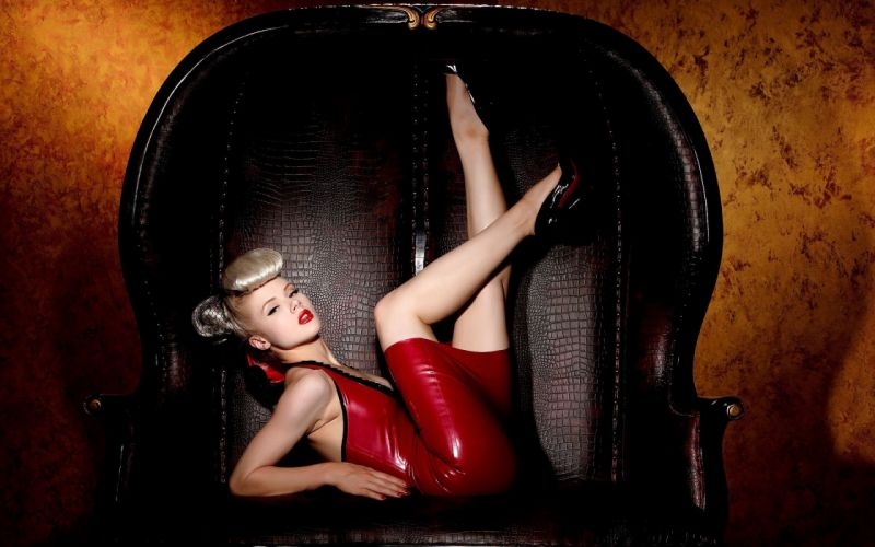 blondes women red dress fashion photography teaser wallpaper