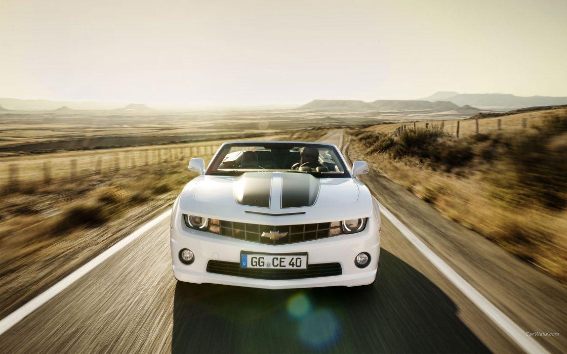 cars Chevrolet Camaro convertible wallpaper