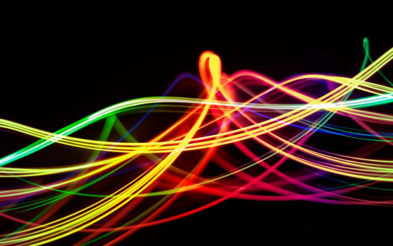abstract multicolor shapes lines wallpaper