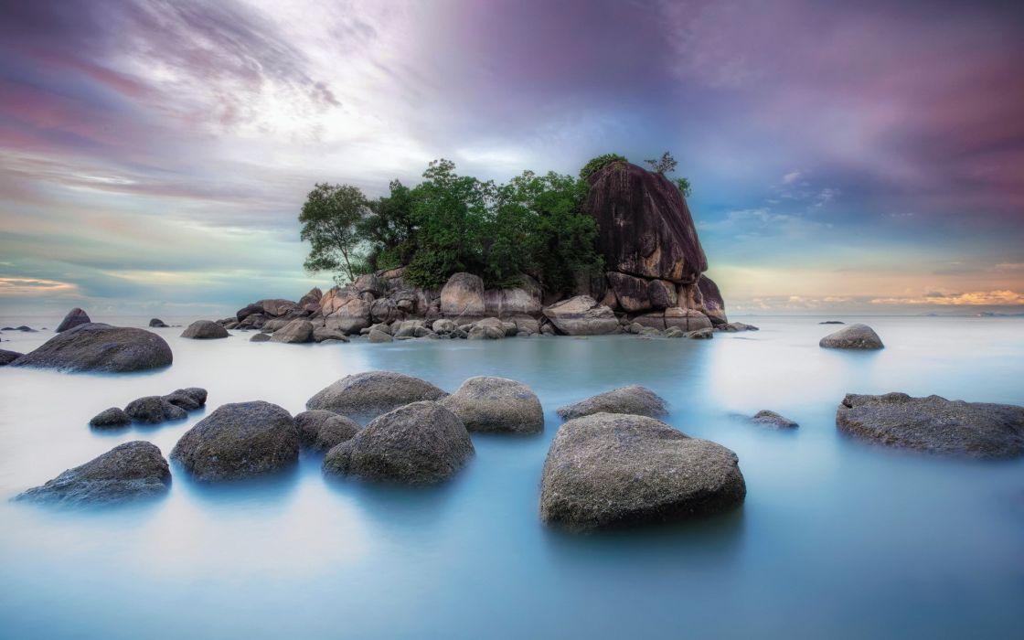 landscapes rocks wallpaper