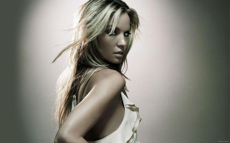 blondes women Ashley Scott wallpaper