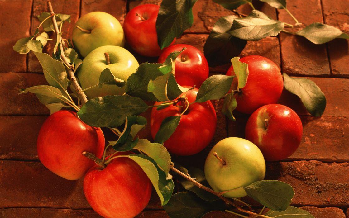fruits food bricks apples sandwich wallpaper