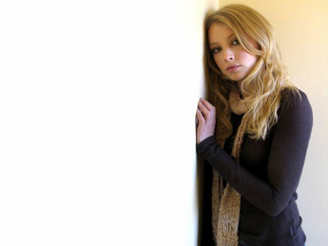 blondes women Elisabeth Harnois wallpaper