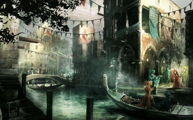 artwork Assassins Creed 2 wallpaper