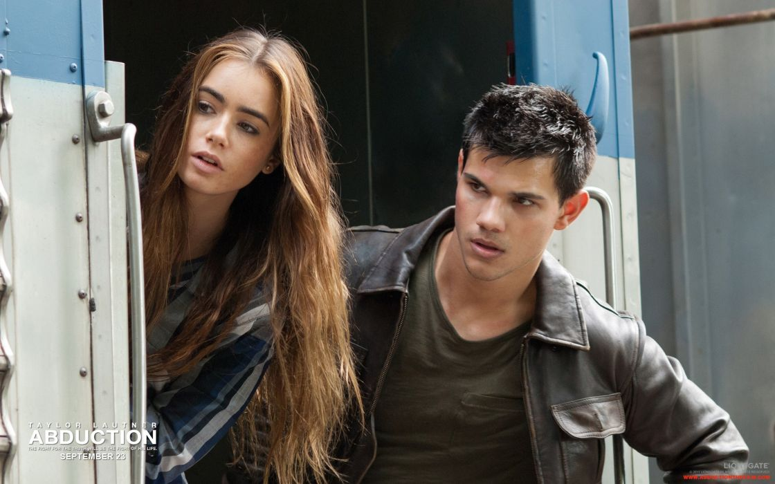 Lily Collins Abduction Taylor Lautner wallpaper