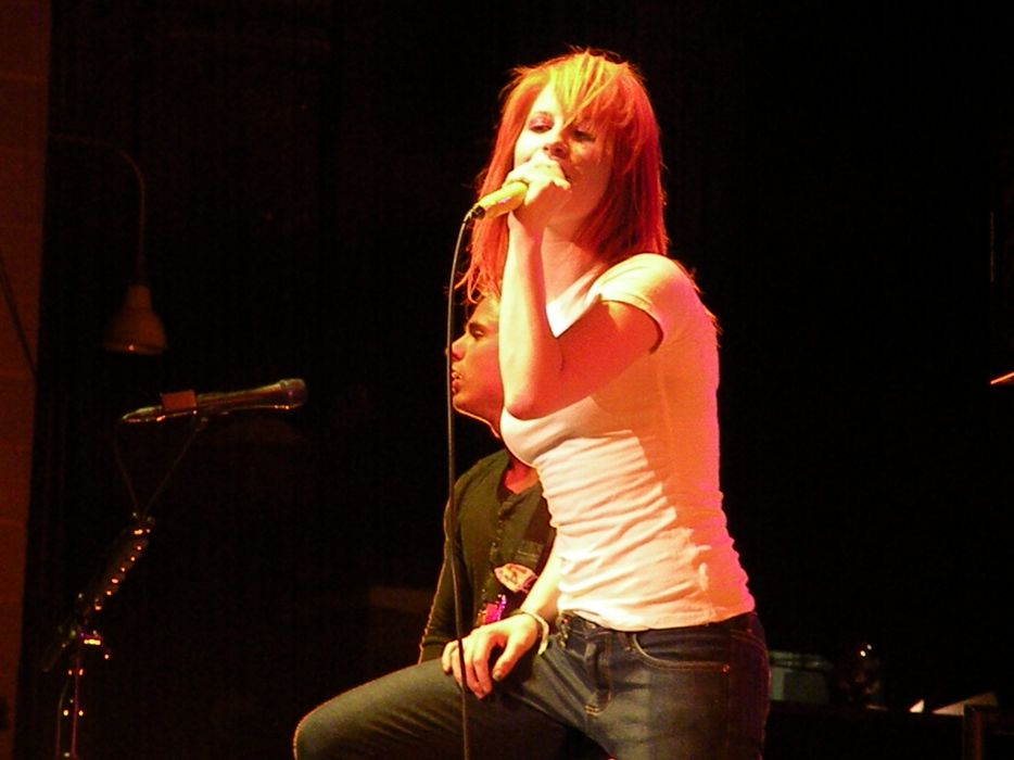 Hayley Williams Paramore women music celebrity singers wallpaper