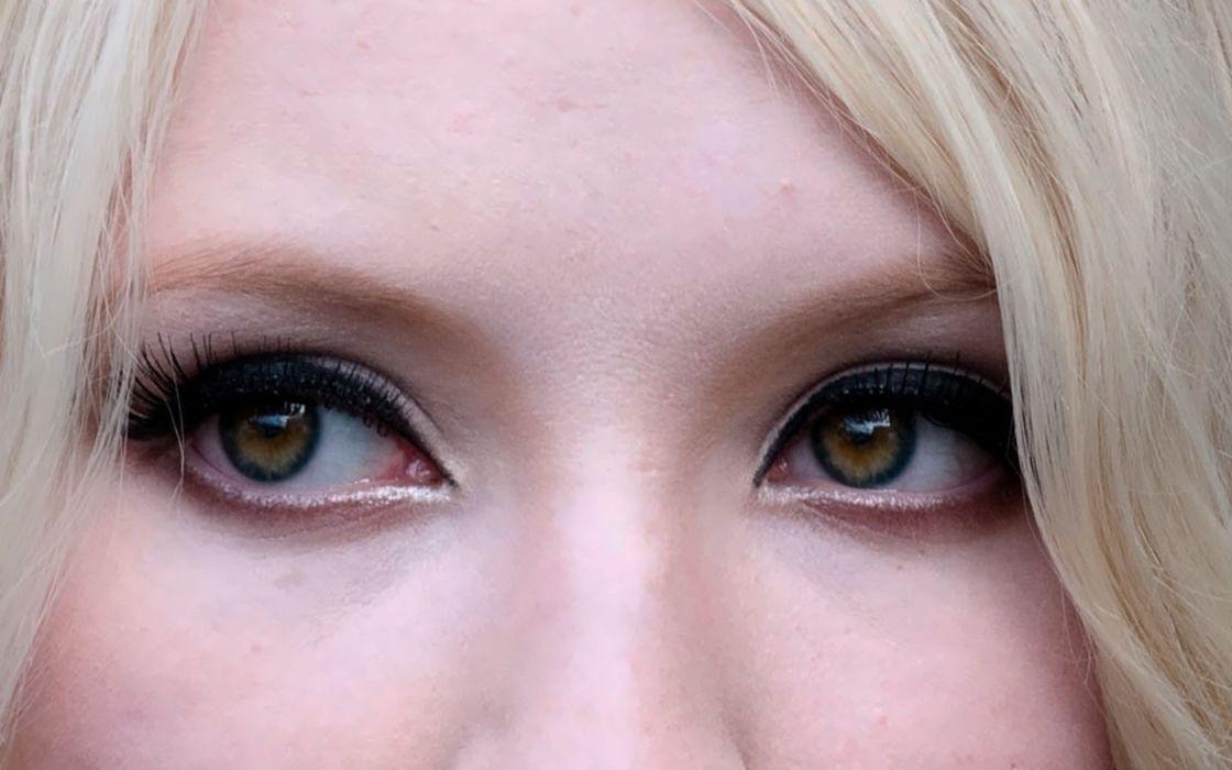 women close-up eyes actress Emily Browning celebrity wallpaper
