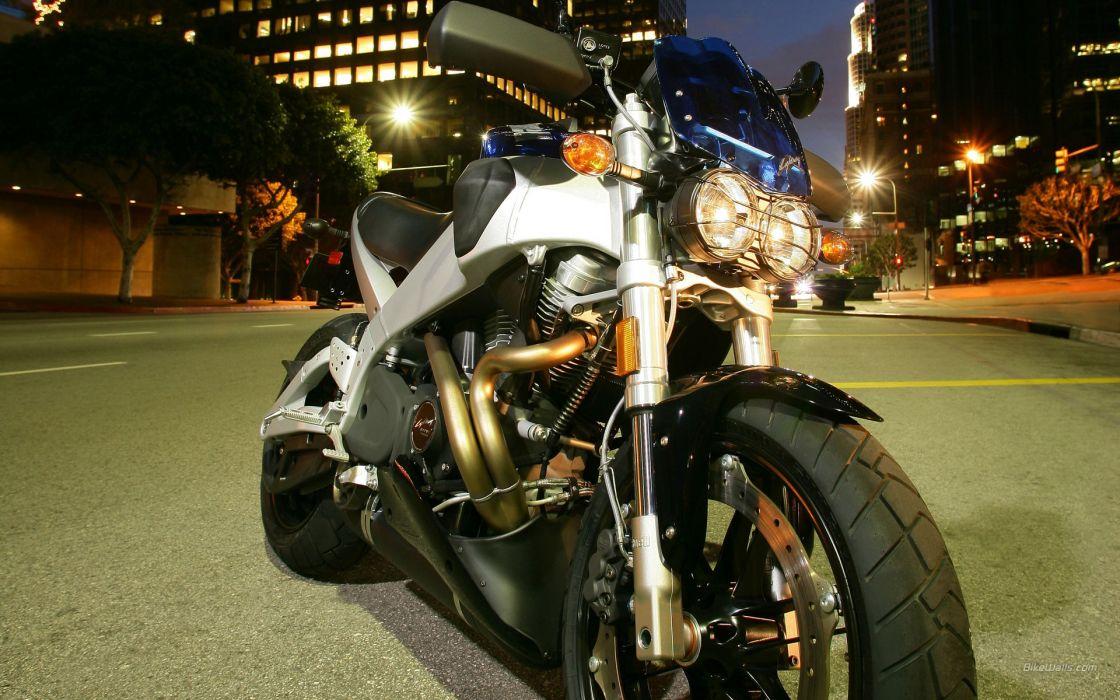 night lightning motorbikes Buell wallpaper