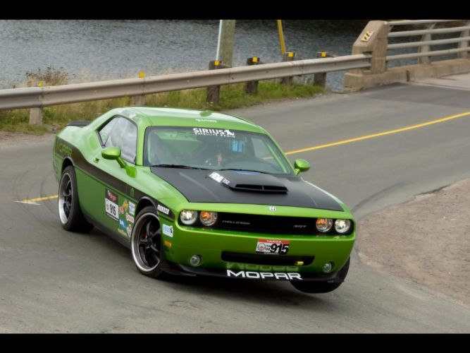 front drive Dodge Challenger wallpaper