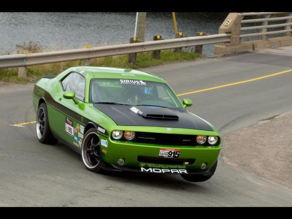 front drive Dodge Challenger wallpaper