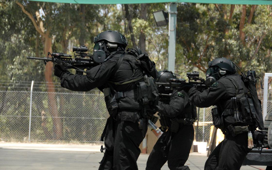 army SWAT Australian Military Counter Terrorism wallpaper
