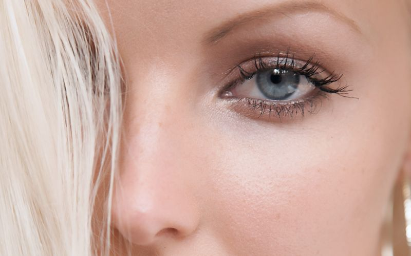 blondes women eyes blue eyes models faces Victoria Kruz wallpaper