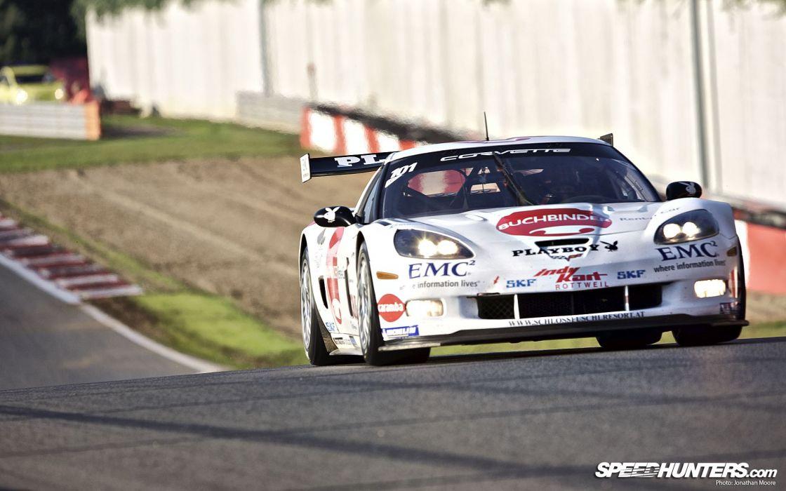 Corvette racing cars wallpaper