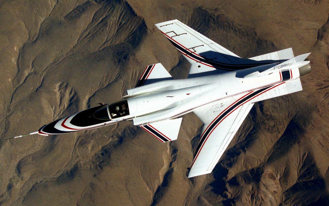 aircraft military X-29 wallpaper