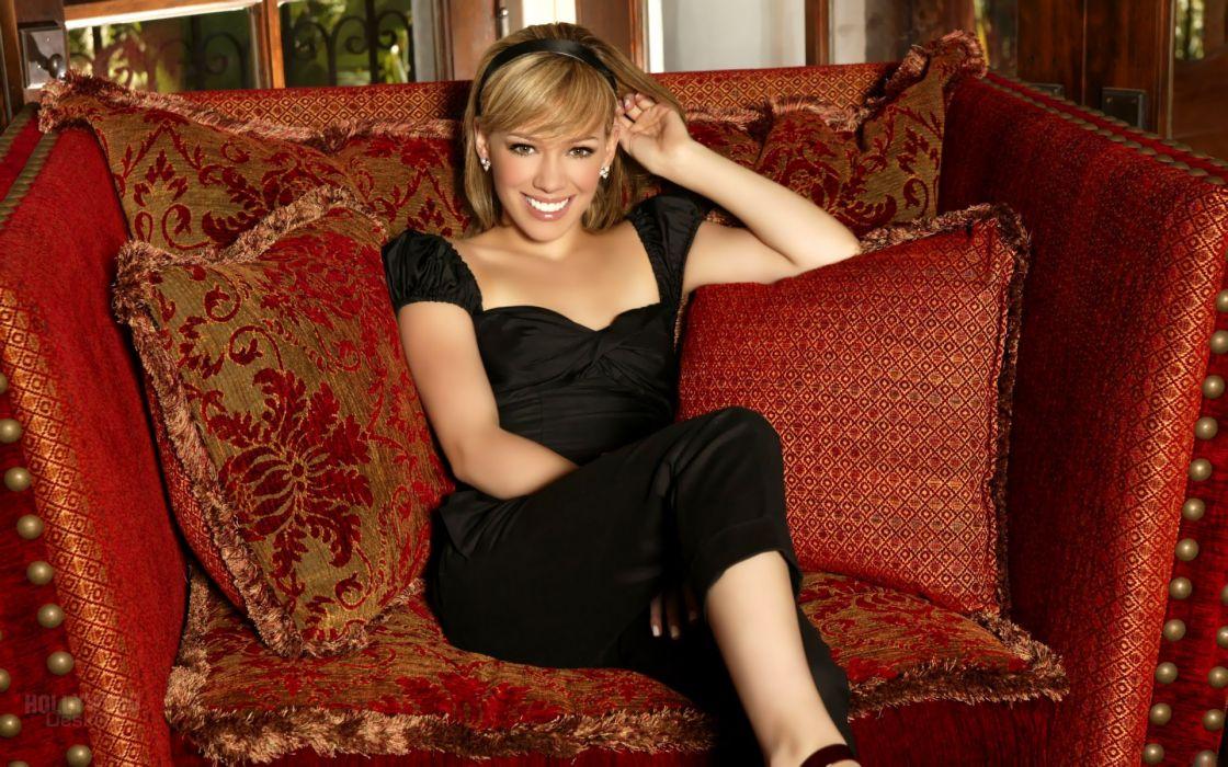blondes women actress Hilary Duff wallpaper