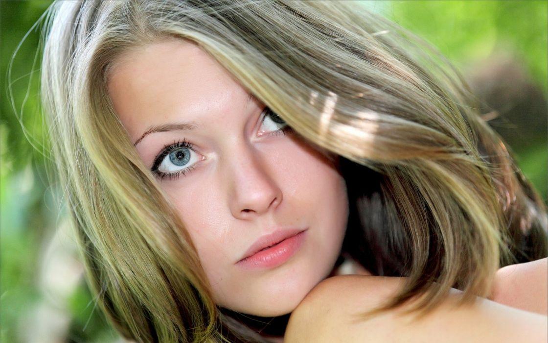 blondes women models faces Tamara wallpaper