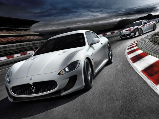 cars Maserati wallpaper
