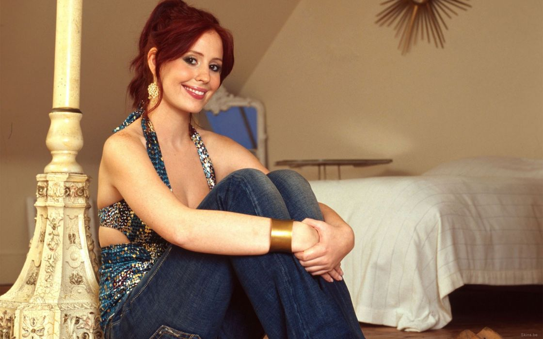women redheads smiling Amy Nuttall wallpaper