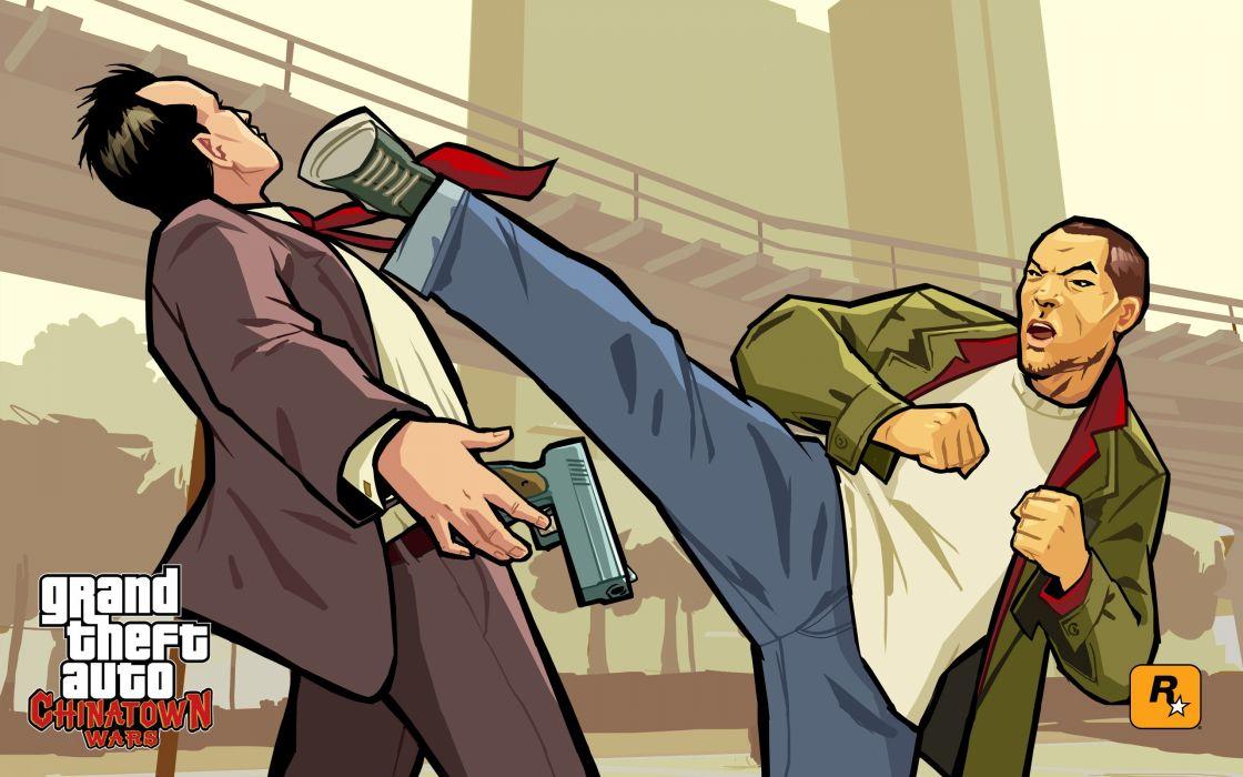 video games Grand Theft Auto wallpaper