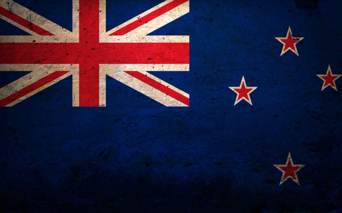 flags New Zealand wallpaper