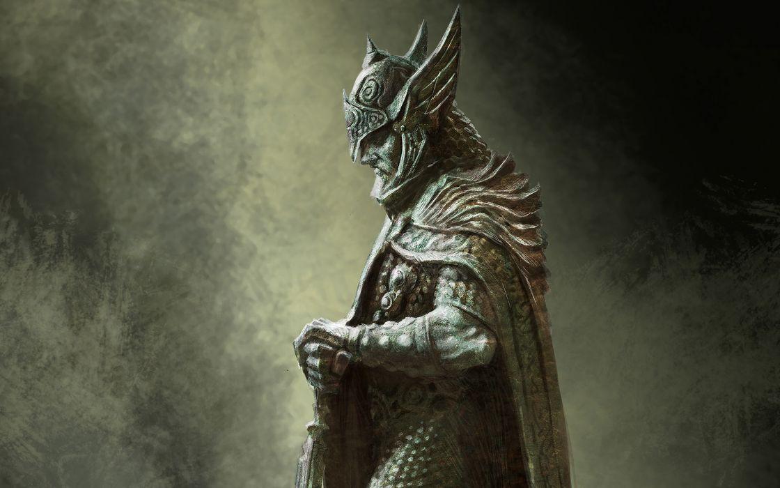 fantasy art artwork The Elder Scrolls V: Skyrim celtic Celtic Warrior wallpaper