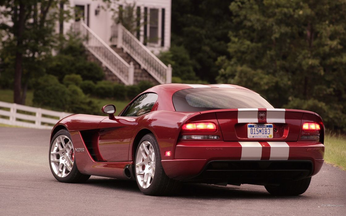 cars Dodge Viper SRT10 wallpaper