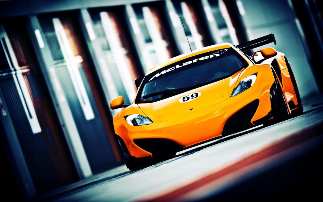 cars Le Mans supercars racing McLaren MP4-12C wallpaper