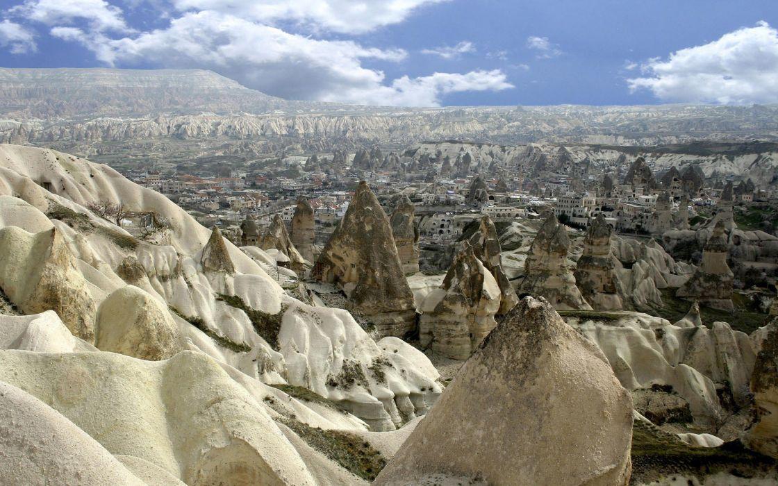 landscapes Turkey Cappadocia wallpaper