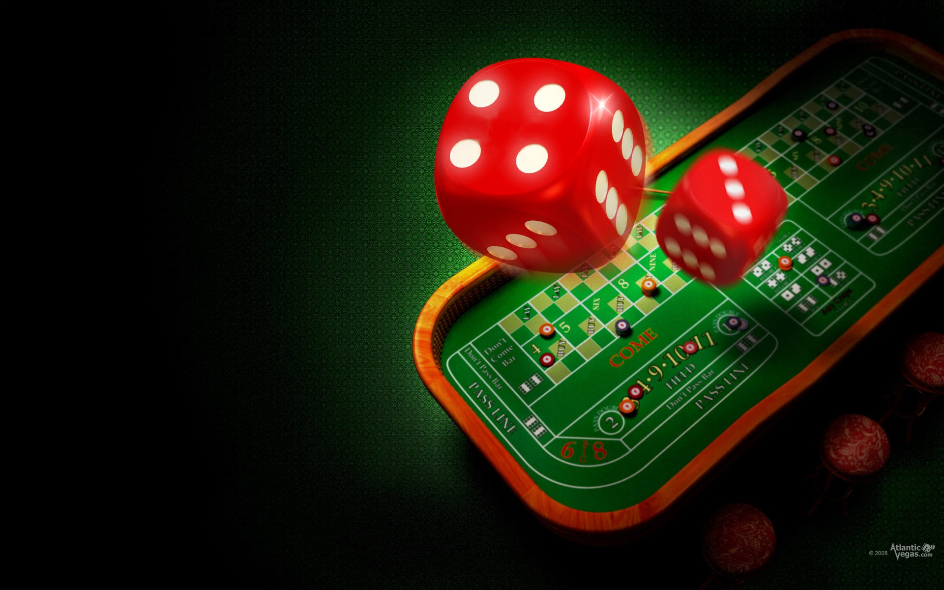 free casino wallpaper
