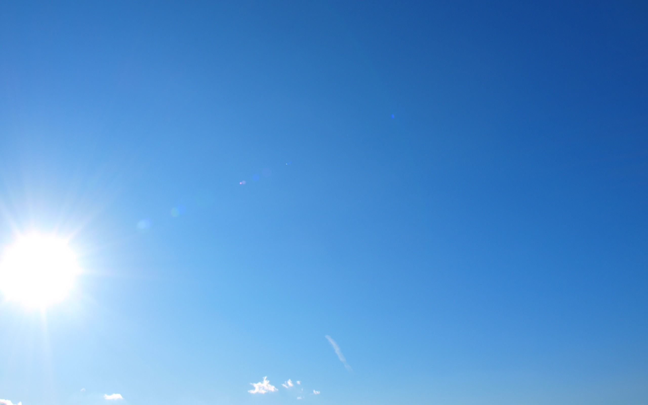 Картинки, картинки чистого неба с солнцем