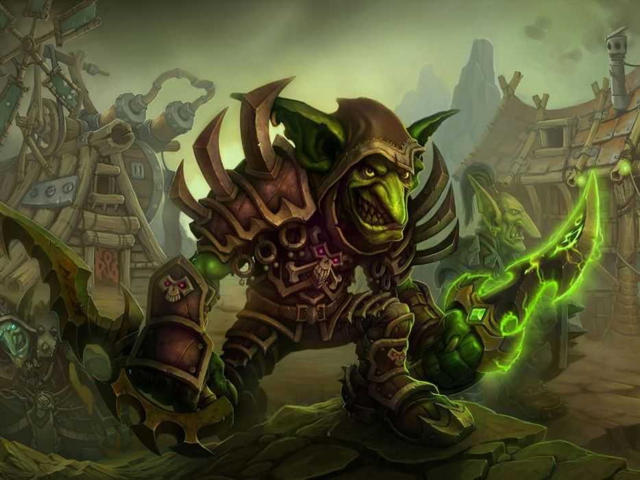 Video Games World Of Warcraft Fantasy Art Goblins Cataclysm